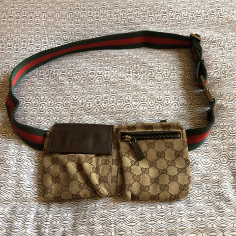 bd21d05a54d3 Authentic Gucci waist bag, super cute and can wear to or for - Depop