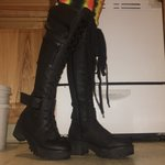 67104fb5e5e Current Mood Willow Knee-High Boots Vegan Suede Size 9 to - Depop
