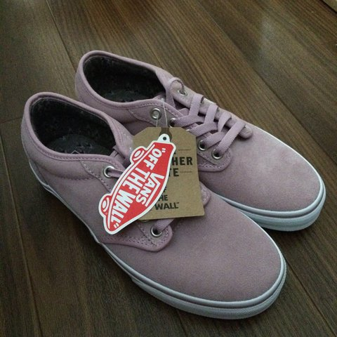 b8cdd28a44c398 BRAND NEW Purple   Pink   Mauve Vans - UK SIZE 5 - Come in - - Depop