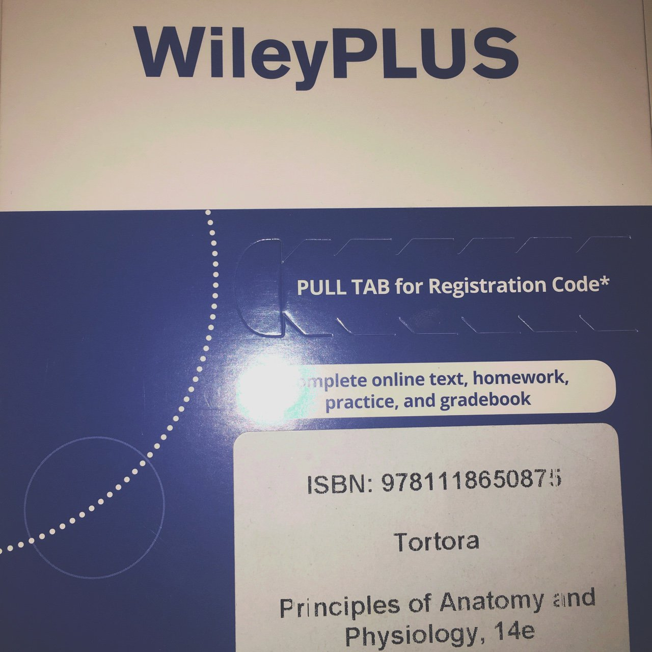 Wiley Plus online registration code for Principles of and - Depop