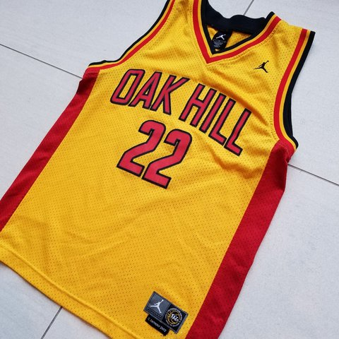 2ff93e6ac187 Air Jordan brand Oak Hill high school basketball jersey  22 - Depop