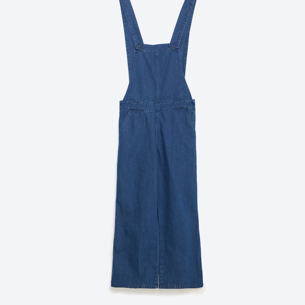 d14eb490956 NWT Zara Trafaluc Collection cropped flared overalls