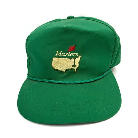 Vintage Green Masters Hat Leather Strap   Rope by Derby Cap - Depop 83dc3041032