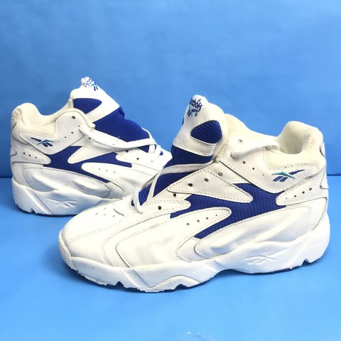 Vintage 90s Reebok Shoes Womens New Old Stock Size 8 without - Depop 9cb7557f9