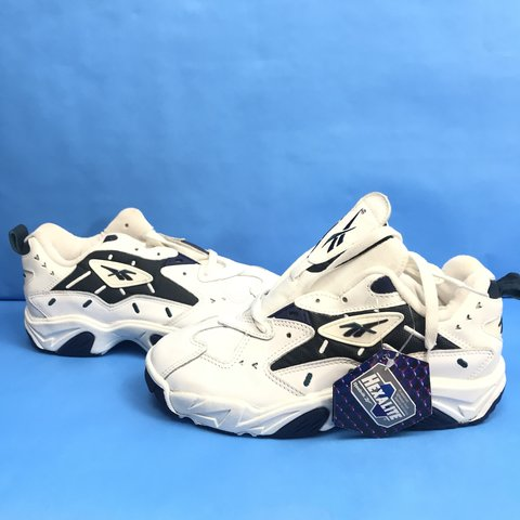 Vintage 90s Reebok Shoes Womens New Old Stock Size 6.5 with - Depop 46f8cd280