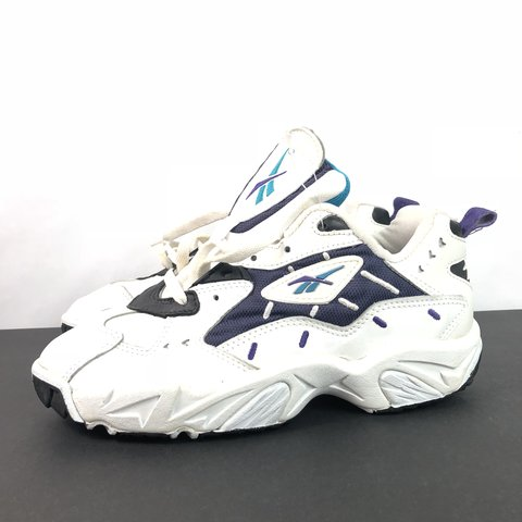 Vintage 90s Reebok Shoes Womens New Old Stock Size 9 without - Depop a1bf1db15