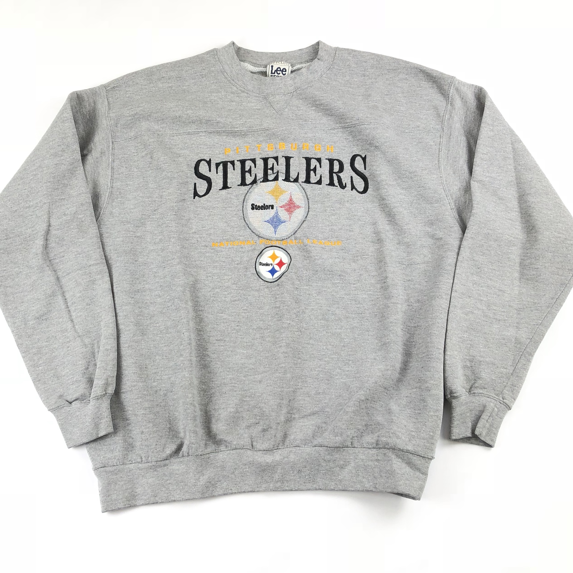 san francisco 09db1 d8f83 Vintage Pittsburgh Steelers Crewneck Sweatshirt Mens ...