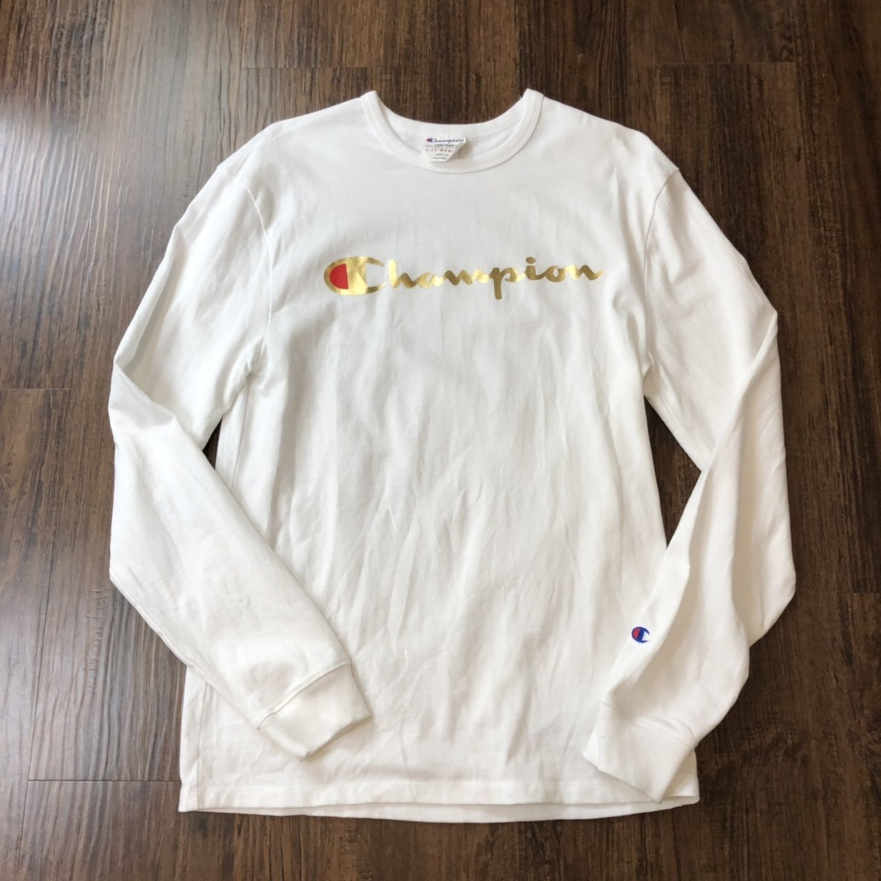 4a365400d @banksstreetsupply. 5 months ago. Asheboro, United States. Champion  Heritage 1919 Gold Script Long Sleeve T Shirt ...