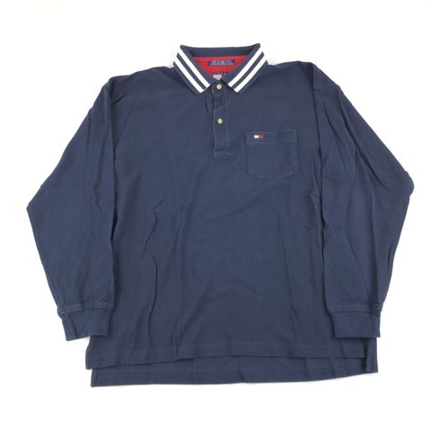 21911a67a @banksstreetsupply. 27 days ago. Asheboro, United States. Vintage Tommy  Hilfiger Long Sleeve Polo Rugby Shirt ...