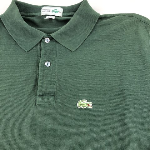 15c4293b @banksstreetsupply. 7 days ago. Asheboro, United States. Vintage Chemise  Lacoste Patron Polo Shirt Size Large Made in USA Green Good Pre-Owned  Condition ...