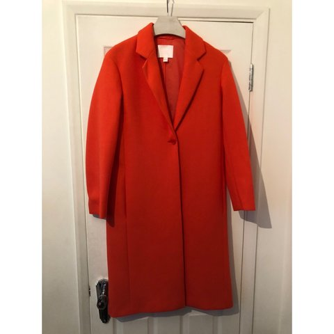 ffb7f71157e Hugo Boss gallery collection bright red coat. Worn once. - Depop