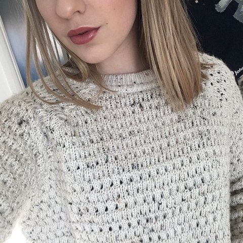 f3d97dd7b1a6ad @eden_ward. 10 months ago. Peterborough, United Kingdom. Cream chunky  knitted jumper from Topshop