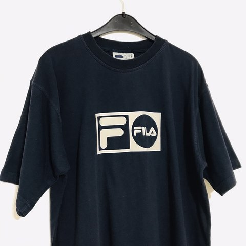 05ca327e9403 @iamvintagevibes. last month. London, United Kingdom. Vintage Fila t-shirt. Size  L