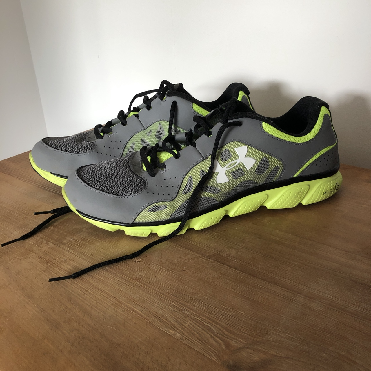 Under Armour Trainers - Grey/ Lime