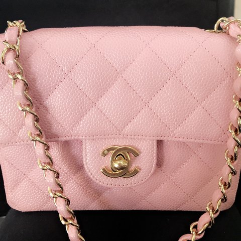 b050cfbfa93d @amooraa96. last year. Orlando, United States. This is an authentic Chanel  classic mini square flap. Featuring caviar leather and 24K gold plated  hardware ...