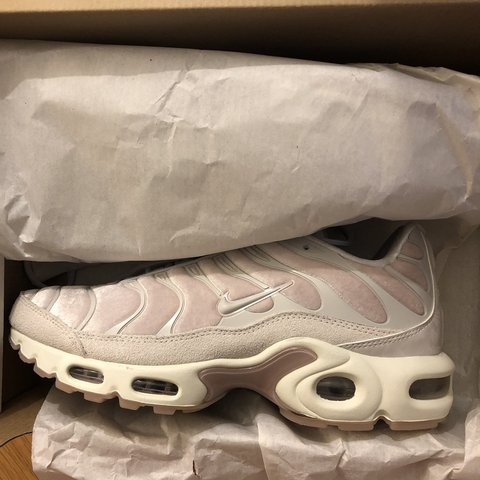 dff5140ed8 @kirstyg23. 8 months ago. New York, United States. Nike Women's Air Max  Plus LX in rose/grey velvet. Brand ...