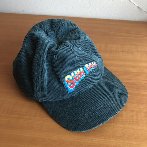 SUH DO0D HAT Green corduroy Empyre brand snapback hat that - Depop 595bf263f4e