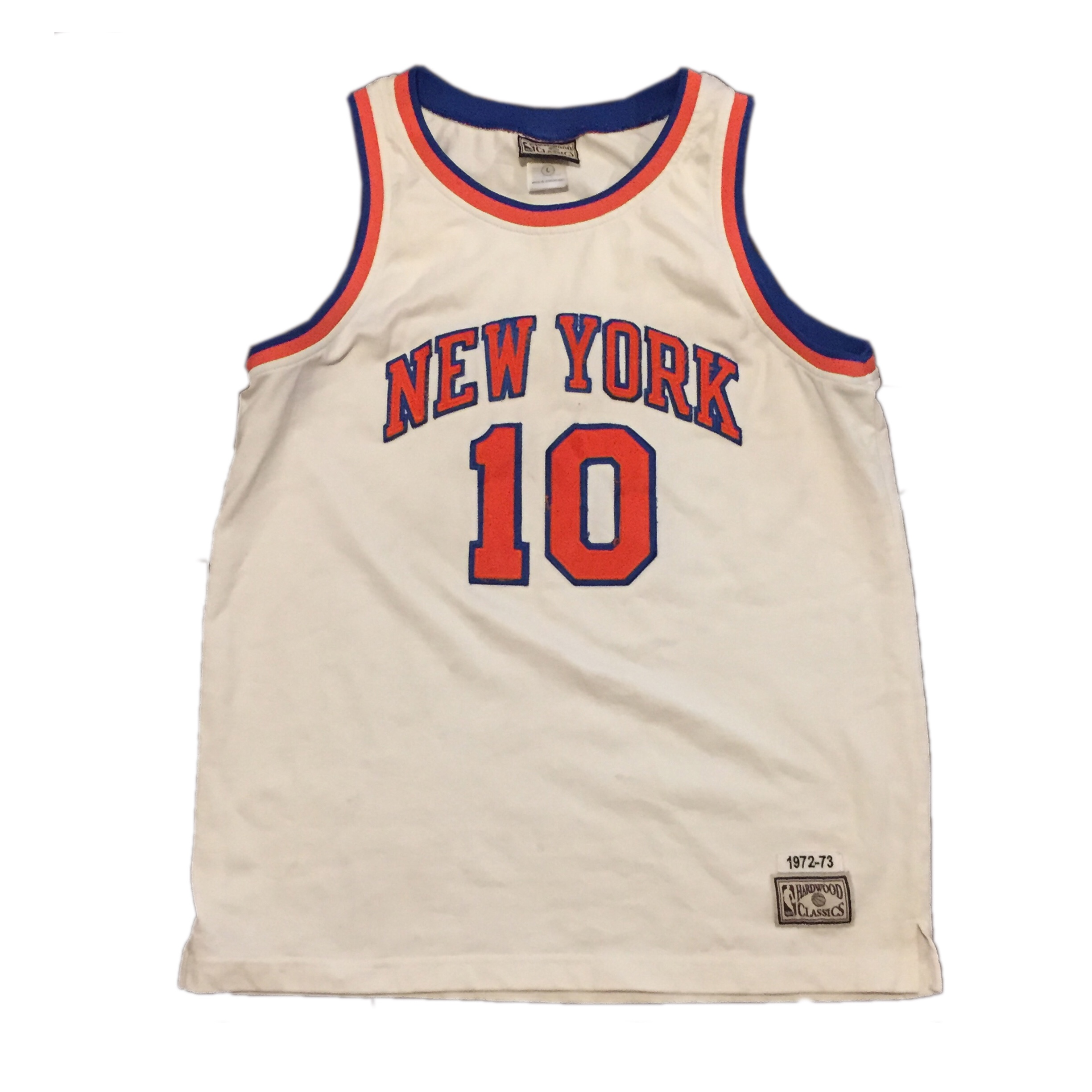 new style 495f7 e5112 Mitchell and Ness Walt Clyde Frazier Retro Throwback ...