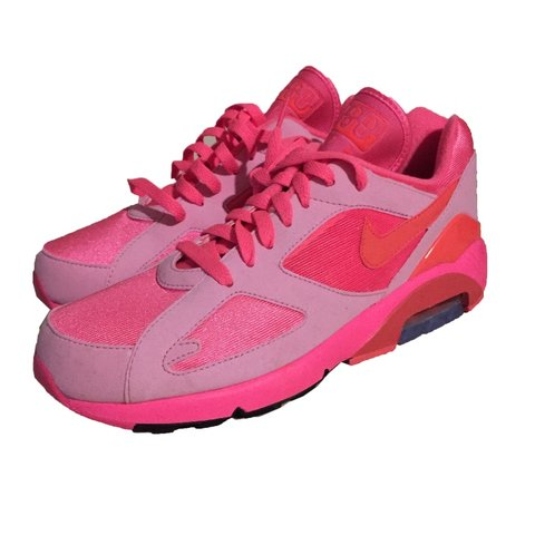 648541878b * price droppie * Cdg x nike air max 180 pink on pink on n - Depop