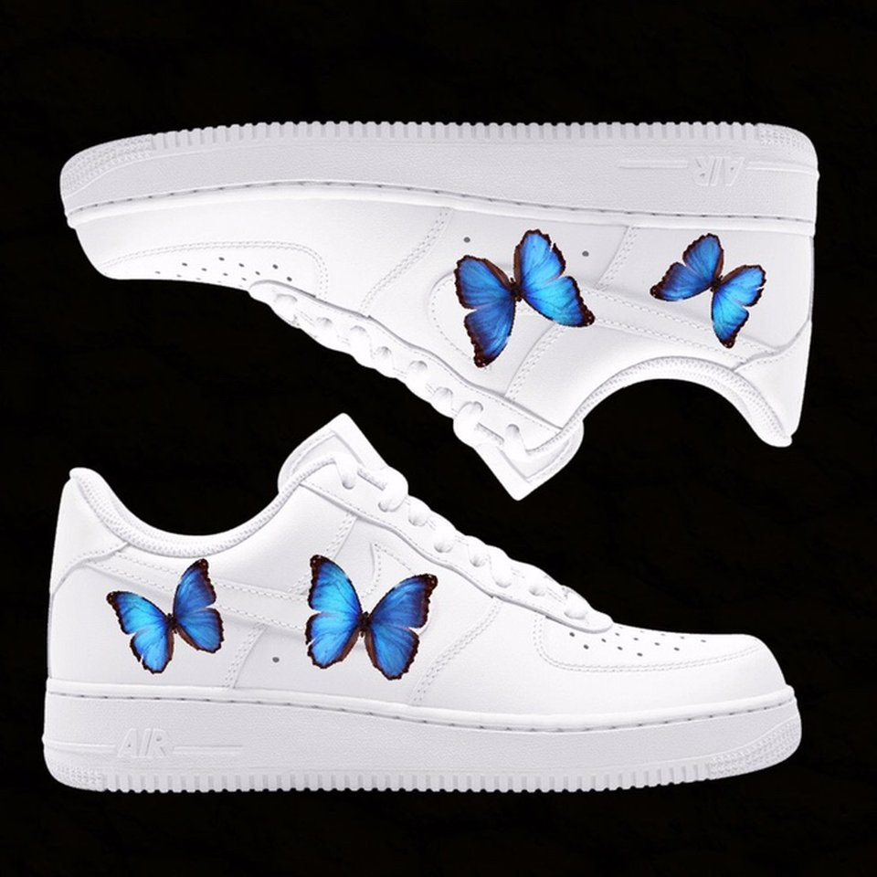 air forces with butterflies on them