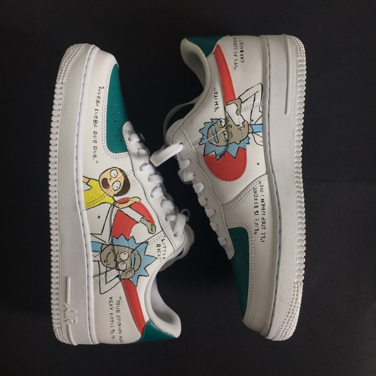 classic fit coupon code cheapest price INSTANT BUY ON Rick & Morty Air Force One Customs... - Depop