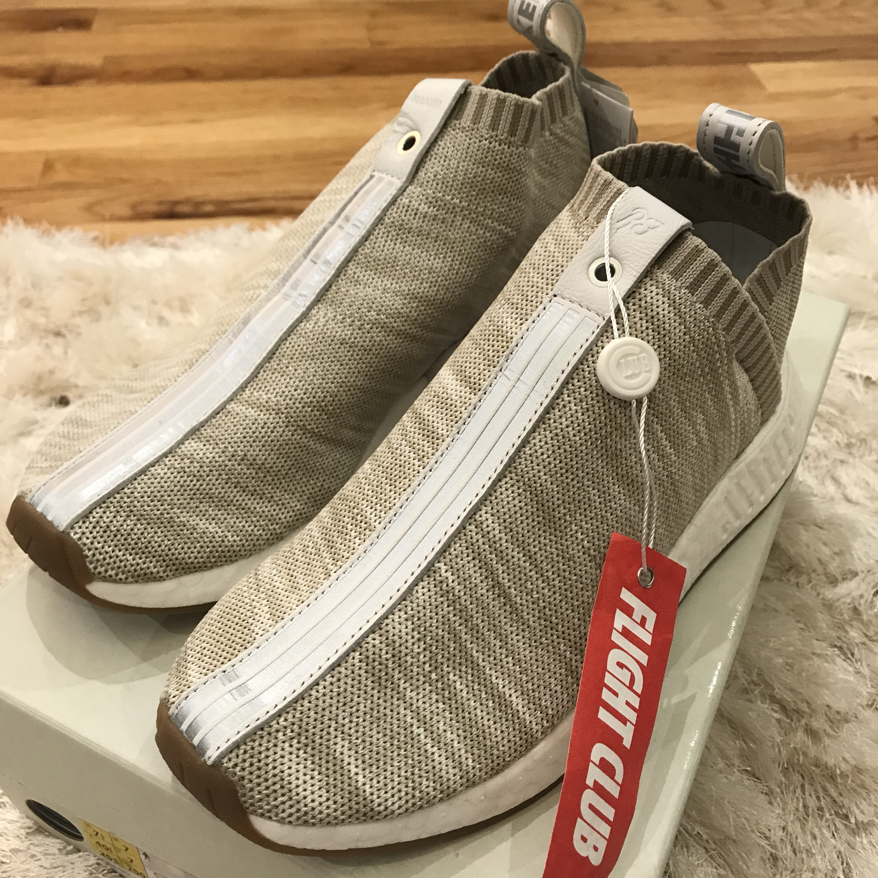size 40 55a71 52969 Adidas originals x Kith NMD CS2 sneaker in tan size... - Depop