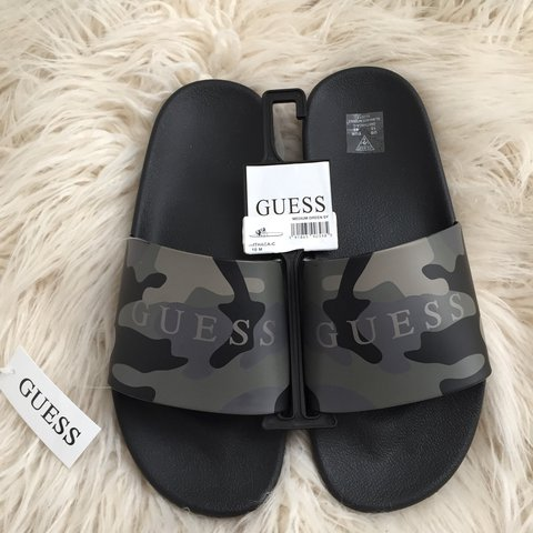 586c11ca17d NEW GUESS SLIDES Men s size 10 Never used! Any questions - Depop