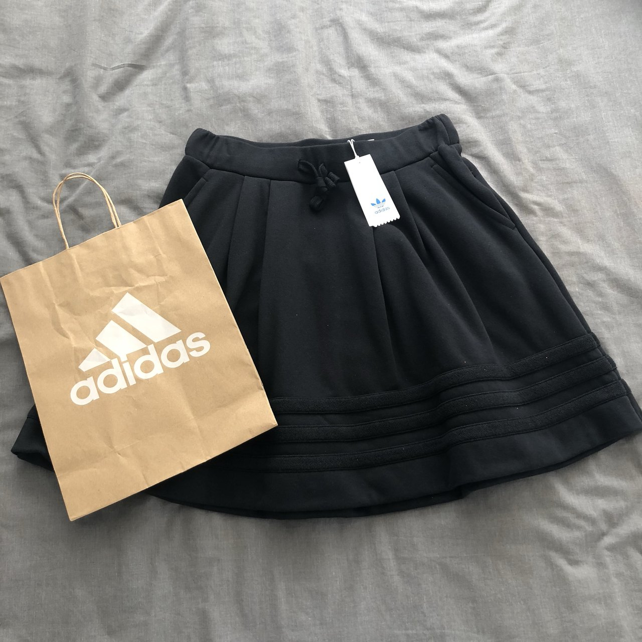 722ccc69f80521 Adidas originals full circle track skirt. Brand new with 14. - Depop