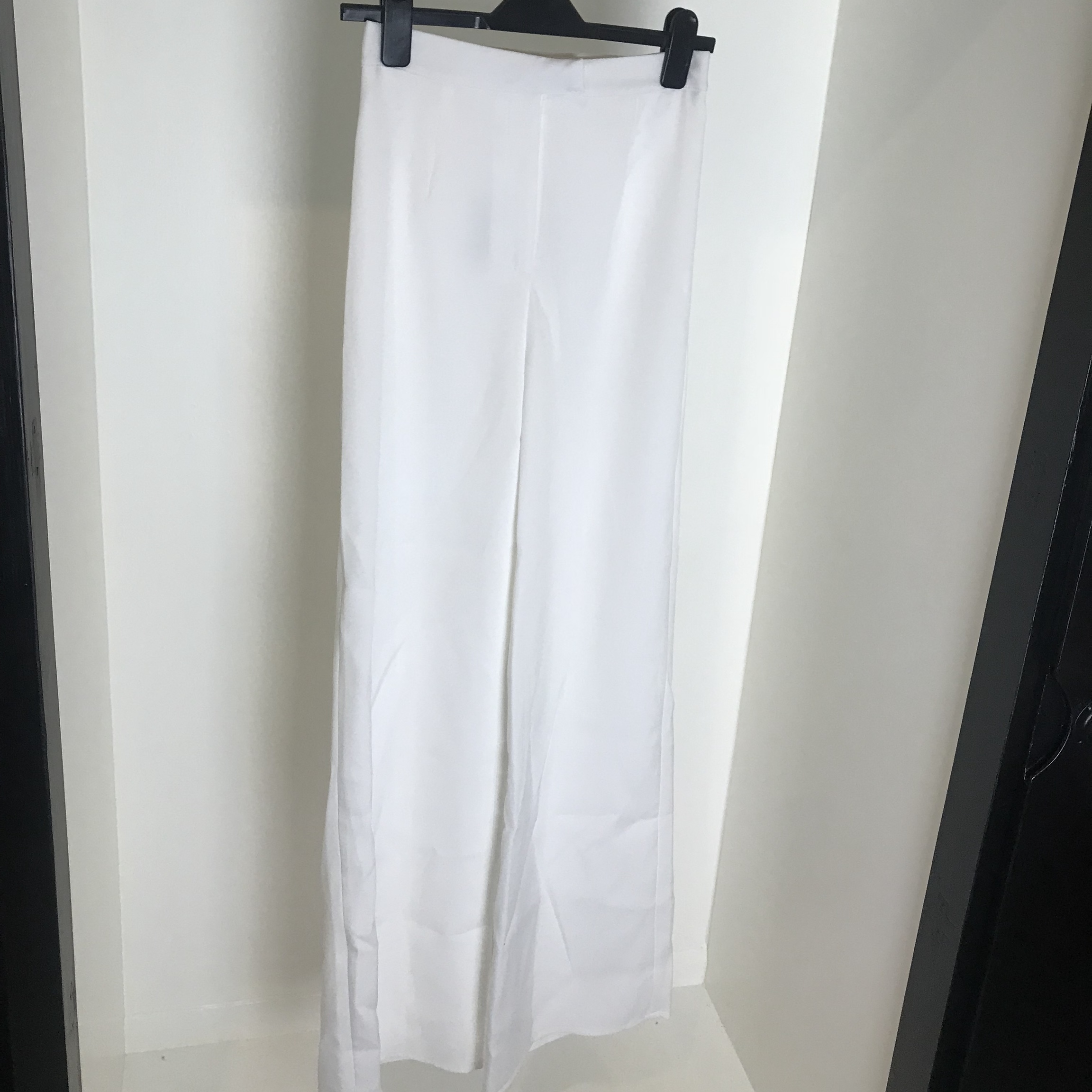 Misguided Tall White Pants Never Worn Size 4 But Depop