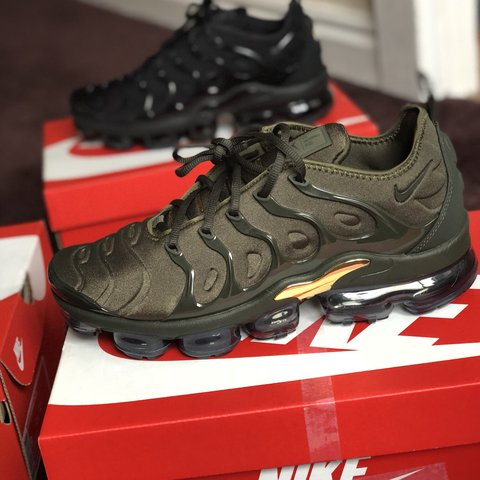 40f4a991e6 @don753. last year. Kingswinford, United Kingdom. vapormax. Brand new Nike  vapormax plus. Cargo khaki never been worn. Sizes available 8&9