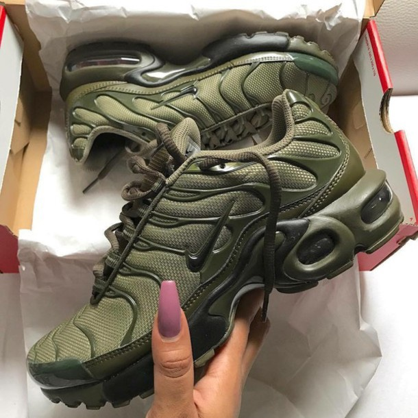 separation shoes 4098a 2705d NIKE AIR MAX TN SIZE 5 KHAKI GREEN. Sold out... - Depop