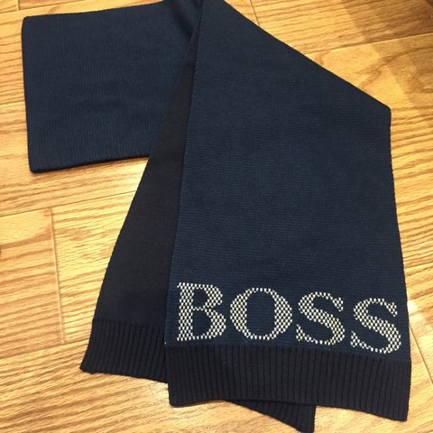 Hugo boss hat and scarf set. Brand new with tags. Tag price - Depop 90db7a4bd20c