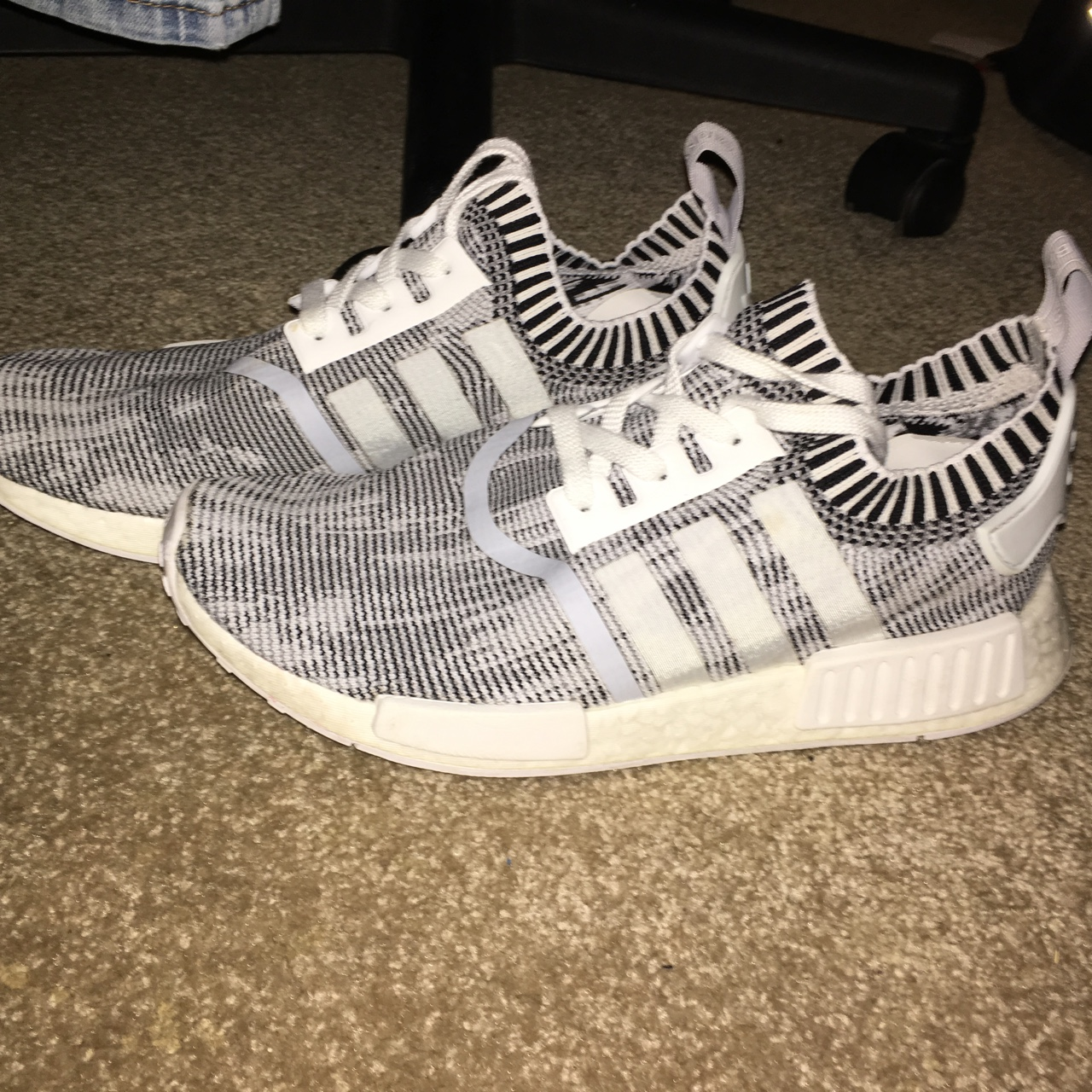 sports shoes 2a5ec c109d Adidas NMD R1 PK 'Oreo' Colorway, size US Men's 8.5 ...