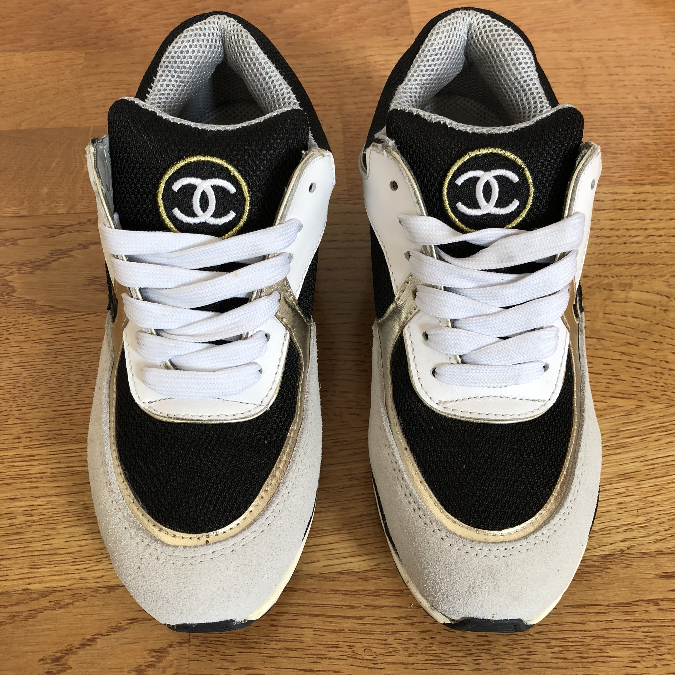 CHANEL TRAINER COCO MADE IN ITALY 37 6