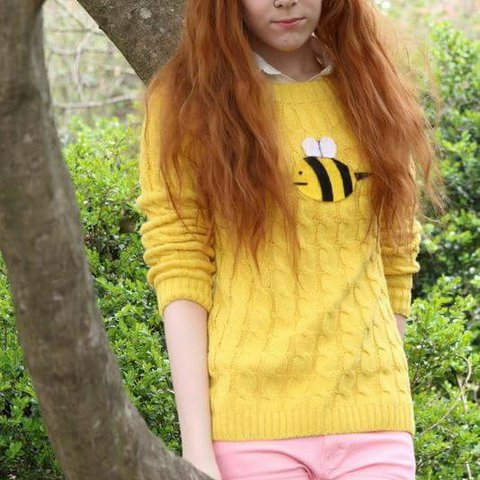 Bee And Puppycat Sweater Cosplay The Bee Was Handmade By Me Depop