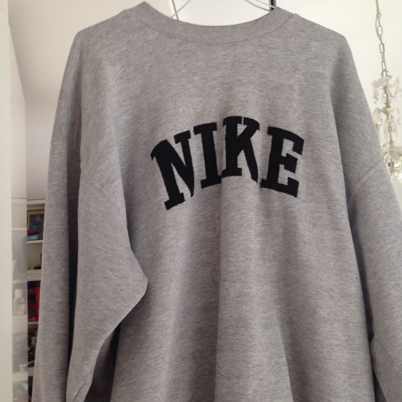 recognized brands detailed look clearance prices Vintage Nike Crewneck Sweatshirt - Depop