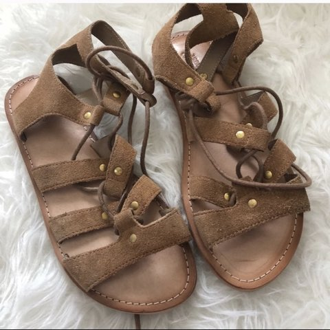 576c5f0ad80 NWOT urban Outfitters Gladiator Sandals size 8 Super cute a - Depop