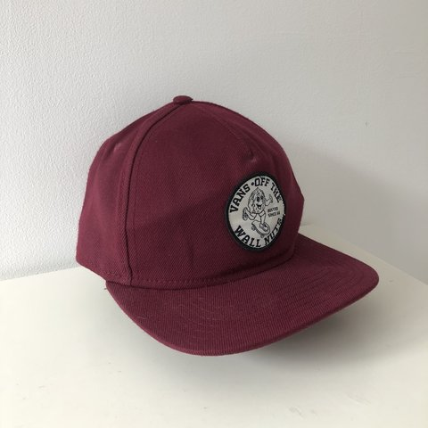 932cc5a6 Vans Off The Wall (Wall Nuts) Hat, In great strap at the to - Depop