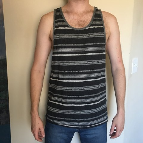 e57b7924fef83 Men s Forever 21 tank top. Size M. Like new condition. Worn - Depop