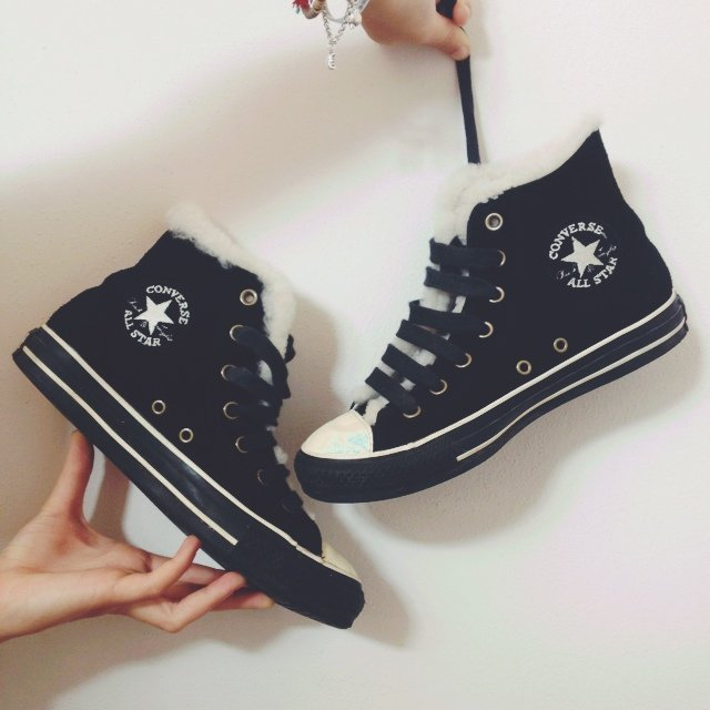 all star con pelo