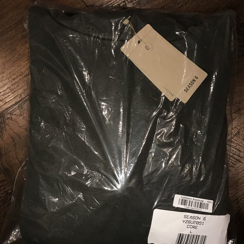 dfd628bd62f Yeezy season 6 hoodie size large new with tags from yeezy - Depop