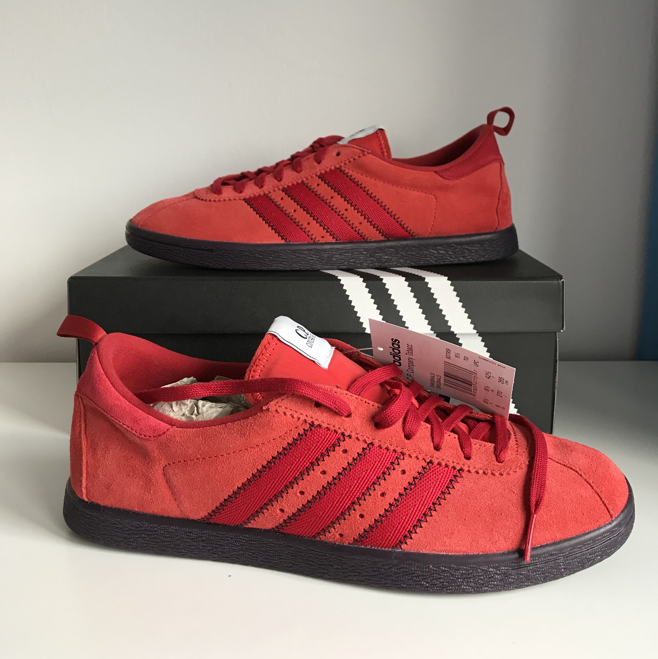 ADIDAS CP COMPANY TOBACCO!!! Sold out deadstock    - Depop