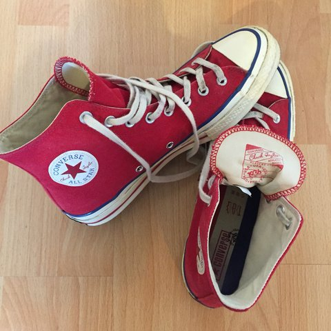 6932f9f08ff7 Converse Chuck Taylor All Star 70 vintage 36 Canvas uk Red - Depop