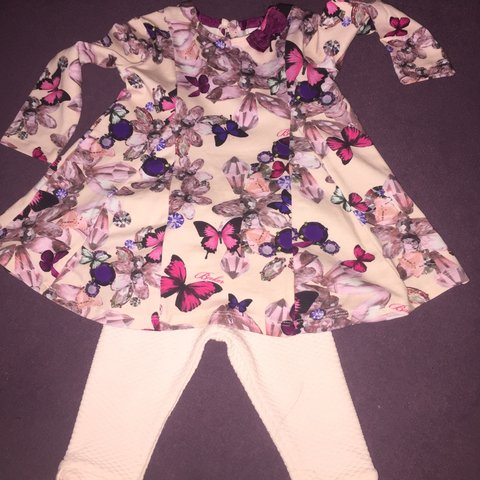 9bebf1e63 Ted baker dress and leggings💗 Slight mark on the leggings - Depop