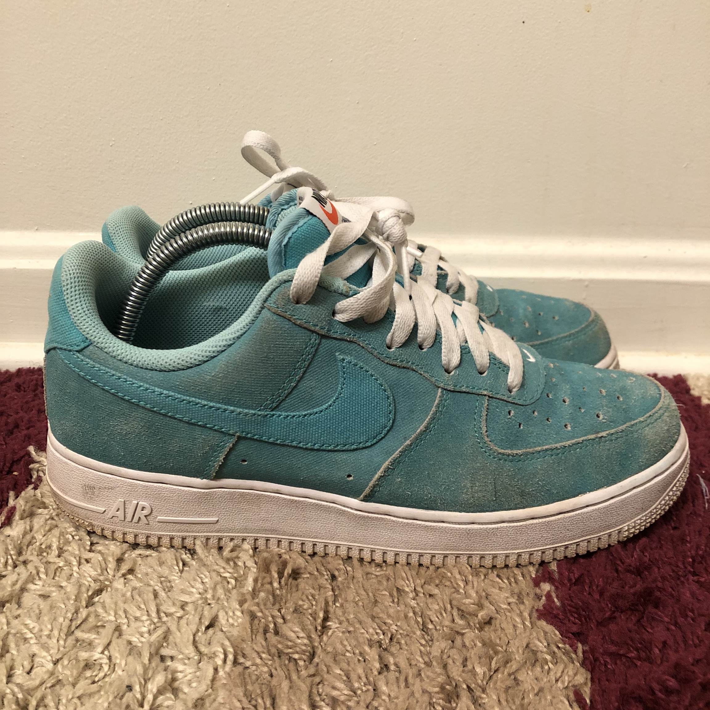Blue Aqua 1 Size Force 8 Club Air Nike Depop Low Yacht POXikZuT