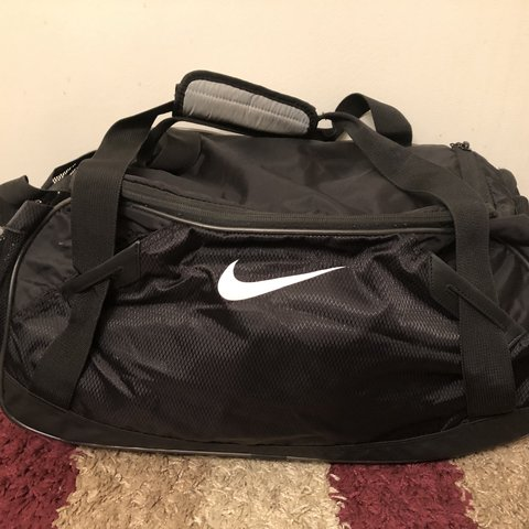 c1ce14f93b2fdd @checkmate300. last year. Sterling, United States. Nike Duffle Bag Gym  Travel Black/White FREE SHIPPING