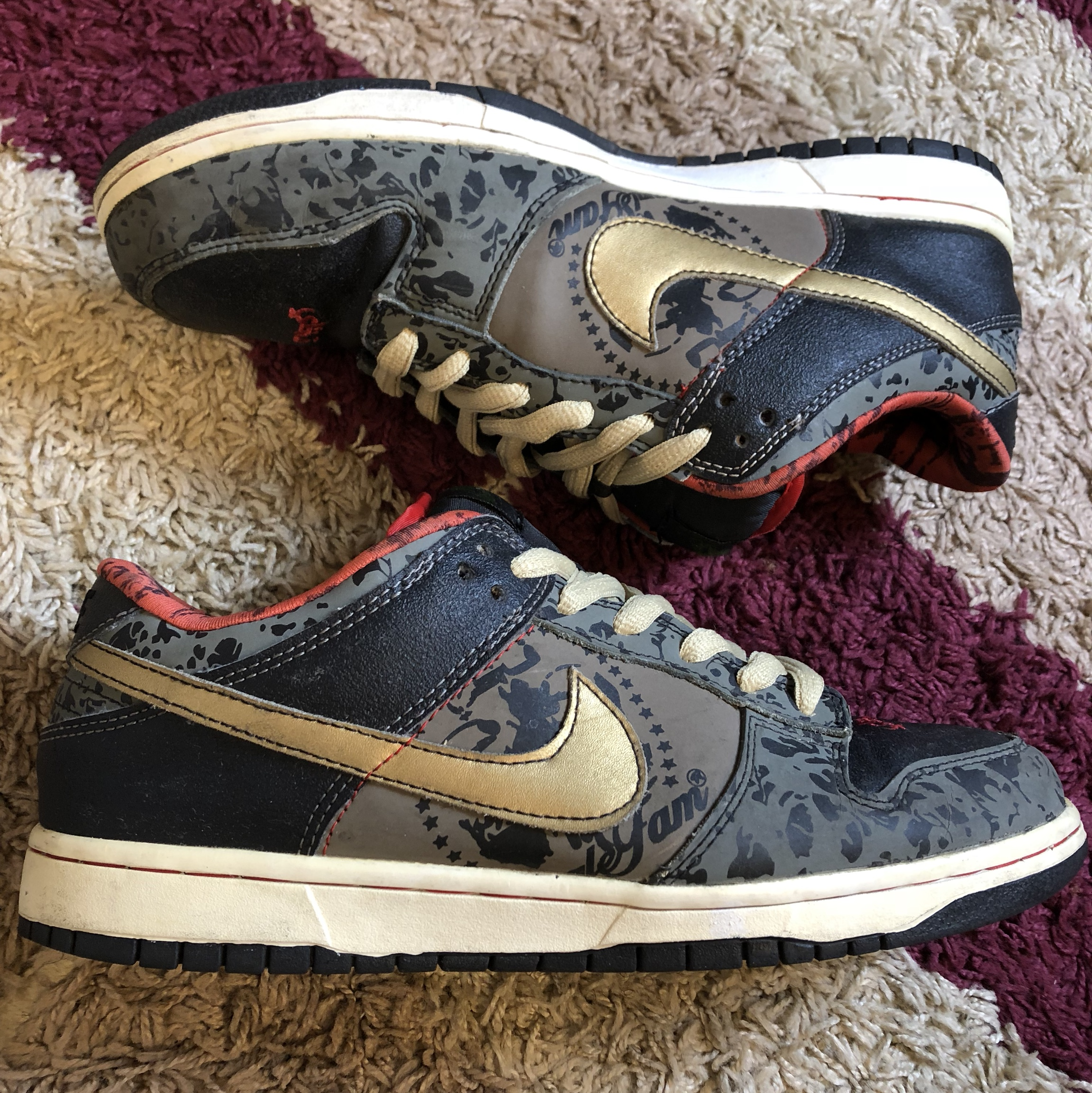 detailed look 4b02a c7017 2006 NIKE DUNK LOW PREMIUM SB SBTG SABOTAGE Sable... - Depop