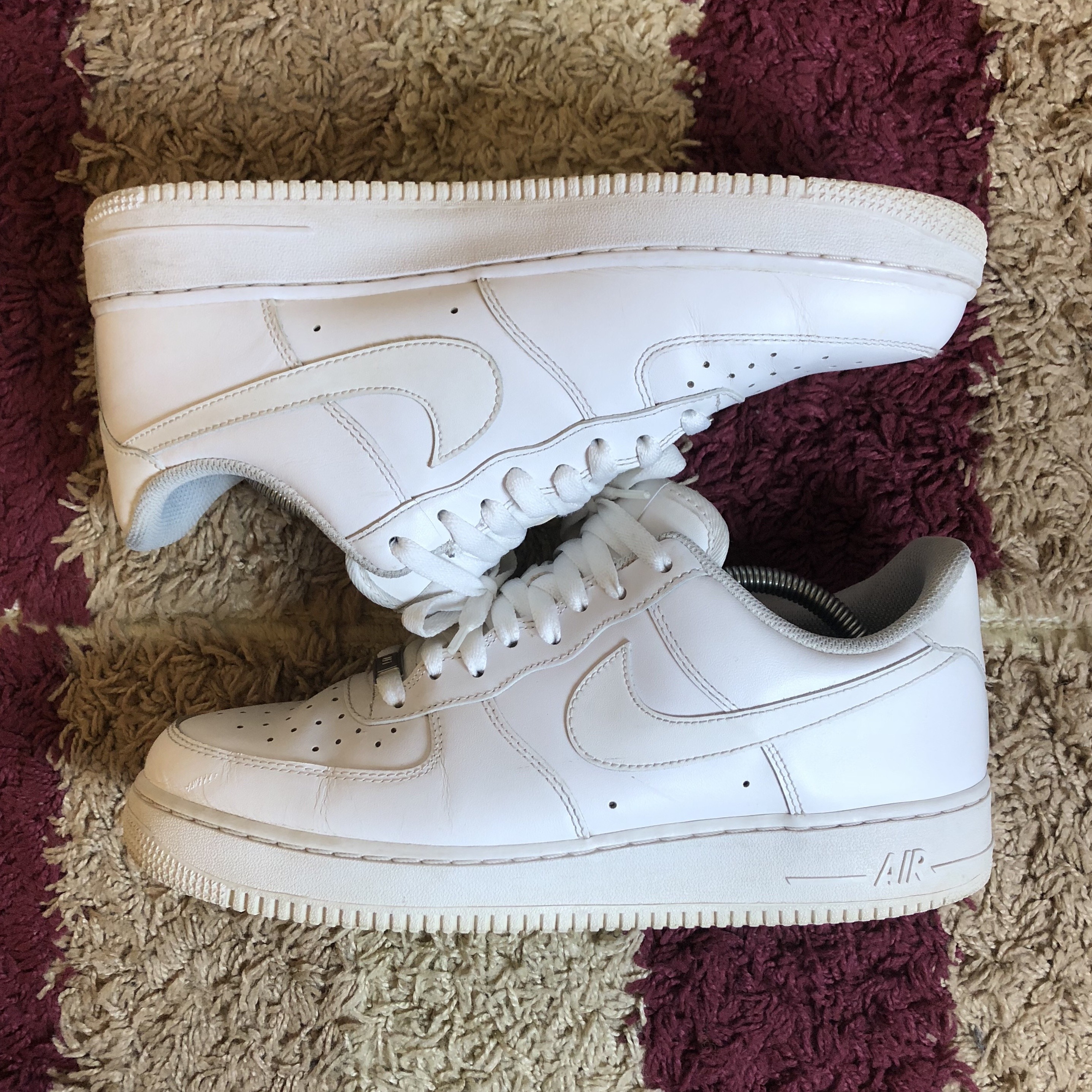 Nike Air Force 1 Low All White G Fazos
