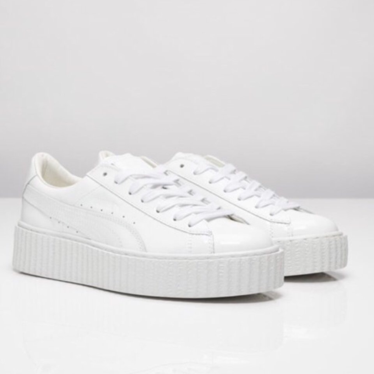 best loved e9c8c ff073 PUMA RIHANNA FENTY CREEPERS WHITE - SIZE 4.5 and ...