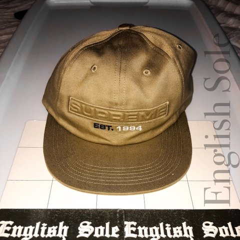 93cdae68 @englishsole. 2 months ago. Grand Rapids, United States. Supreme - Embossed  Logo 6-Panel ...